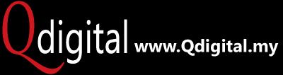 Qdigital Digital Marketing Agency Branding Design 1A 400x106px