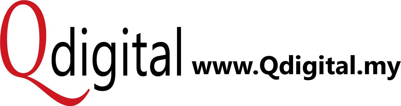 Qdigital Digital Marketing Agency Branding Design 3A 400x106px