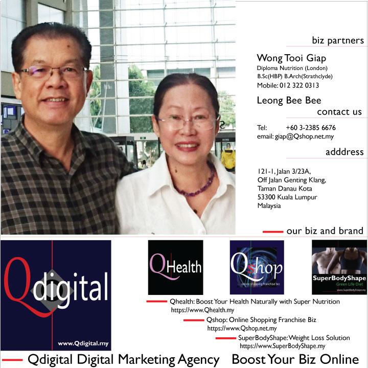 GiapOne Qdigital Digital Marketing Agency Branding Design 1A 720x720px