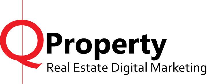 Branding Design Logo 2A Qproperty Real Estate Digital Marketing  720x295px