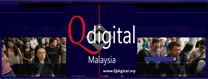 Design of Qdigital Brand Facebook Page Cover 1A 828x315px