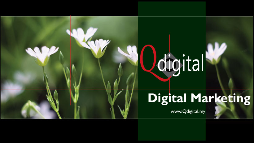 Design of Qdigital Brand Facebook Group Cover 2A 820x462px