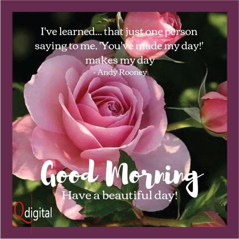 Good Day Greeting Make My Day for Branding Qdigital-Digital Marketing Agency 9A 800x800px