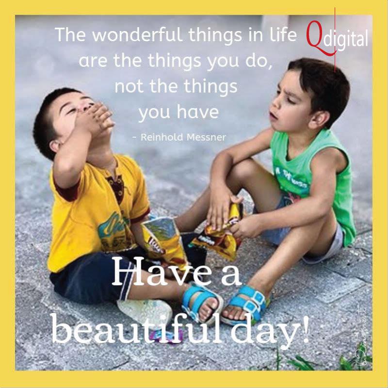 Good Day Greeting Wonderful Things You-Do for Branding Qdigital-Digital Marketing Agency 3A 800x800px