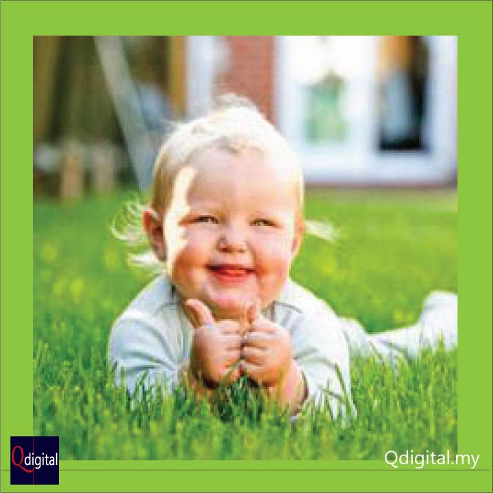Social Comment Branding Qdigital Digital Marketing Agency Baby Smile 1A 720x720px