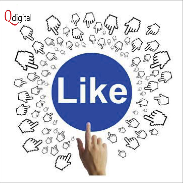 Social Comment Branding Qdigital Digital Marketing Agency Like 1A 720x720px